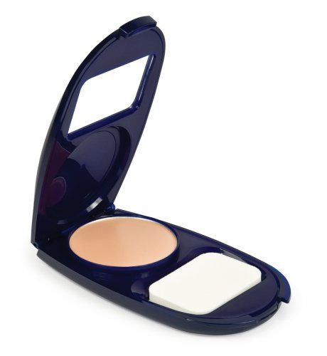 CoverGirl Smoothers Aquasmooth Compact Foundation, Creamy Natural 720, 0.4-Ounce Packages (Pack of 2). Vitamin B-3, B-5 and E. Spf 15 UVA/UVB sunscreen. Oil-free. Hypoallergenic. Won't clog pores.