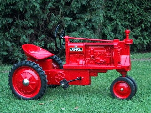 Such casual vintage pedal tractors something