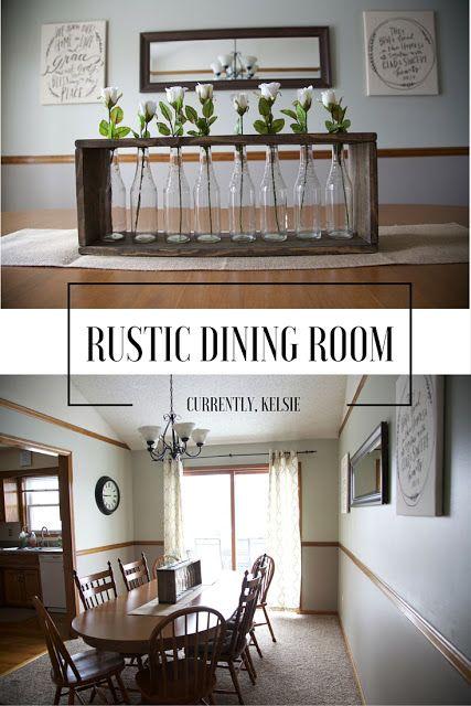 Rustic Dining Room Reveal ~ Currently, Kelsie