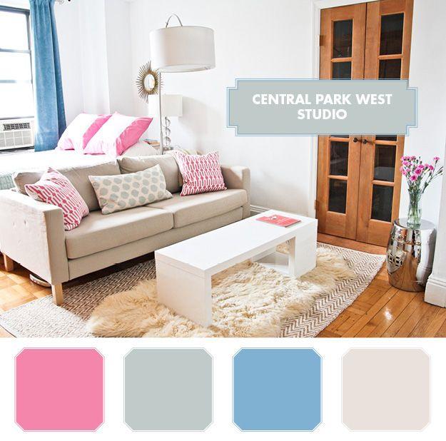 Manhattan New York Studio Apartments: 56 Best Images About Small Studio Designs On Pinterest