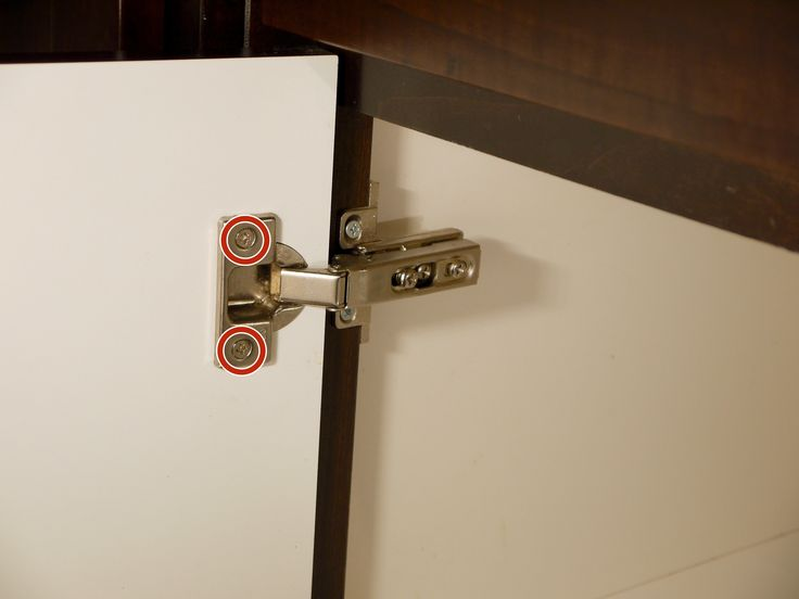How to Replace Concealed Cabinet Hinges | Kitchen cabinets ...