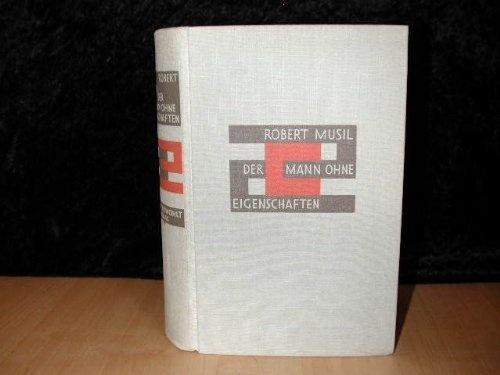 Der Mann ohne Eigenschaften by Robert Musil, first edition
