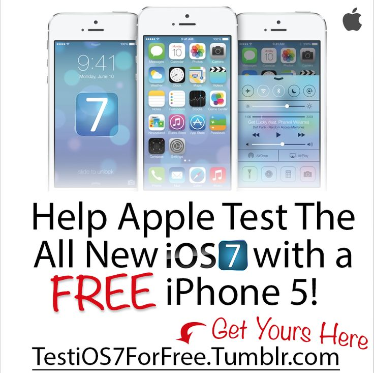 test keep a free iphone 5 help apple test ios7 with a. Black Bedroom Furniture Sets. Home Design Ideas