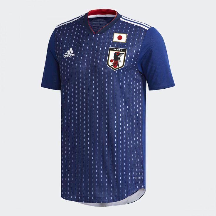 The Adidas Japan 2018 World Cup home kit introduces a clean look with a  stripe pattern