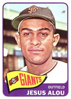 Jesus Alou - San Francisco Giants - Outfielder!