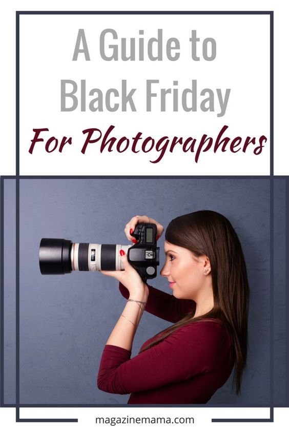 A Guide to Black Friday for Photographers: Black Friday and Cyber Monday are two of the biggest money-making days of the year and if other businesses are profiting, why shouldn't photographers profit too? This posts outlines a few ways that photographers can get in on the profits from Black Friday and Cyber Monday this year too! #photographybusiness