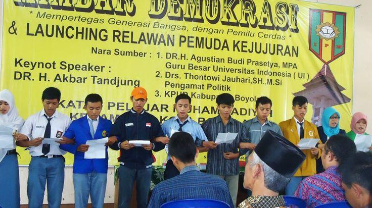 IPM Boyolali Sukses Adakan Mimbar Demokrasi dan Launching Relawan Pemuda Kejujuran  http://www.ipm.or.id/ipm-boyolali-sukses-adakan-mimbar-demokrasi-dan-launching-relawan-pemuda-kejujuran/  #student #organization #IPMJAYA #eventIPM #INDONESIA #activist #youth