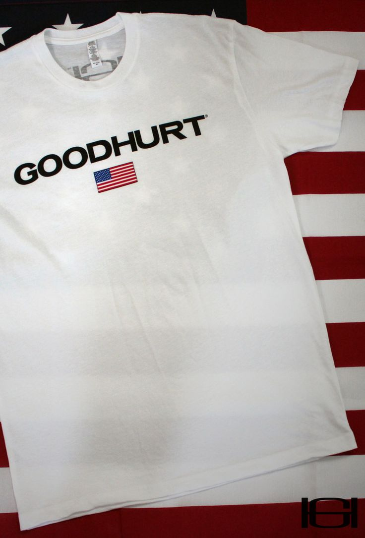 Premium Fitted Suede Crew - Flag Tee