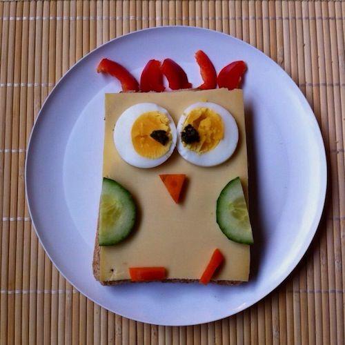 Gezond broodbeleg... soms is het best moeilijk om je kind groentjes voor te schotelen als er ook zulke lekkere dingen als vlokken en chocoladepasta bestaan! Maa