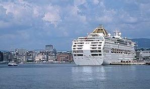 Ship at port in Oslo harbour, Norway - Photo: Kjersti Solberg Monsen/Innovation Norway