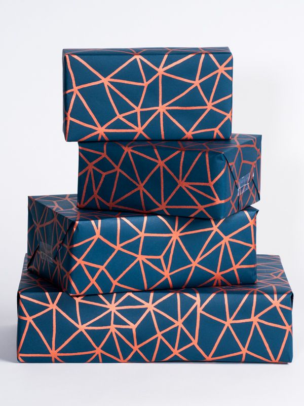 Organic Geometry Wrapping Paper is a beautiful wrap for all giving occasions