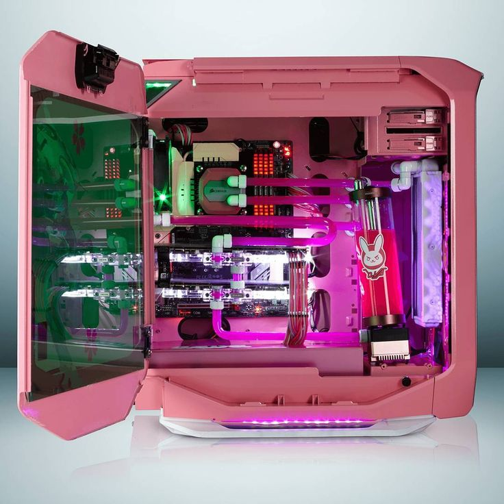 'I play to win!' Have you seen this gorgeous custom @PlayOverwatch D.Va build?  corsair.com/dva #rigs