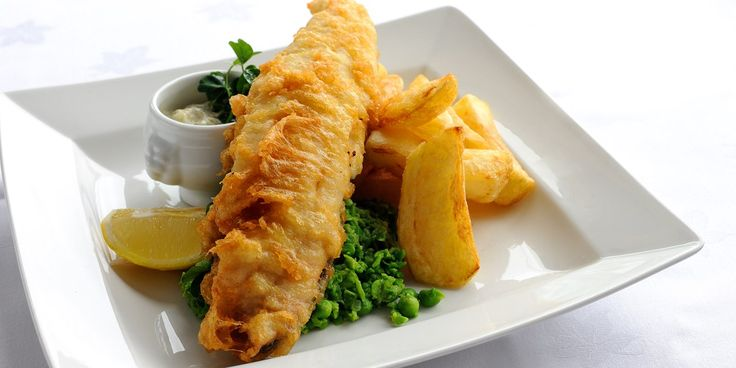 Fish and chips are prepared beautifully in this classic recipe by Josh Eggleton. Haddock fillets are used in this recipe of British fish and chips.