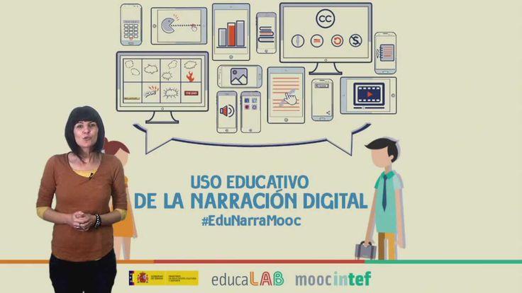 """Vídeo 1 de la Unidad 1 del MOOC de @educaINTEF """"Uso educativo de la narración digital"""" #EduNarraMooc. 1ª Edición 2015."""