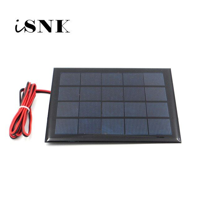 5v 500ma With 100cm Extend Cable Solar Panel Polycrystalline Silicon Diy Battery Charger Module Mini Solar Cell Wire To Solar Cell Solar Panels Battery Charger
