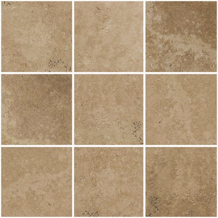 Avalon Brown 12 X 12 Self Adhesive Backsplash Peel Stick Vinyl Wall Tile 3 Tiles 3 Sq Ft