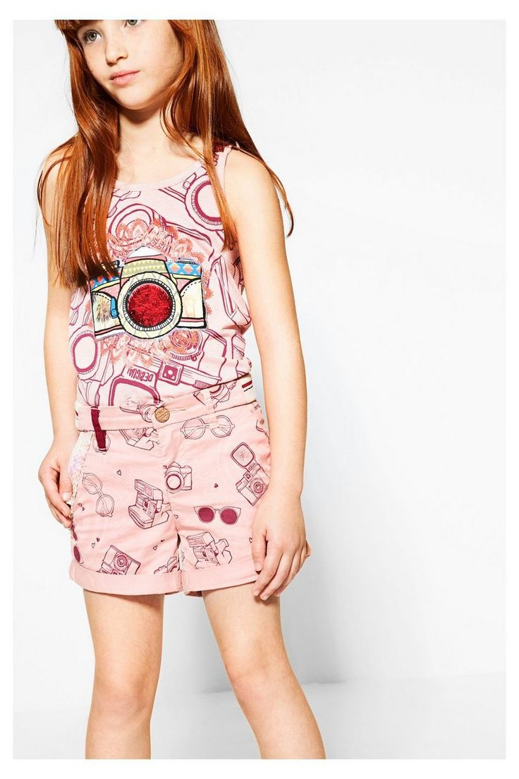 Shorts Desigual de verano Mallard #circulogpr #desigual #fashion #modainfantil