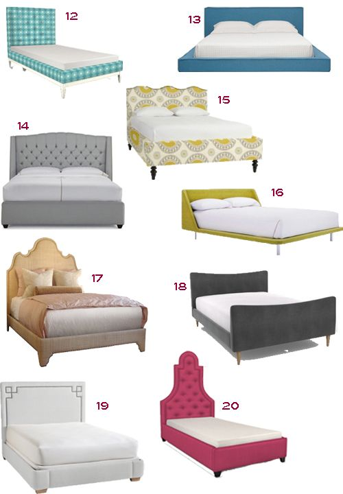 Upholstered Headboards/Beds