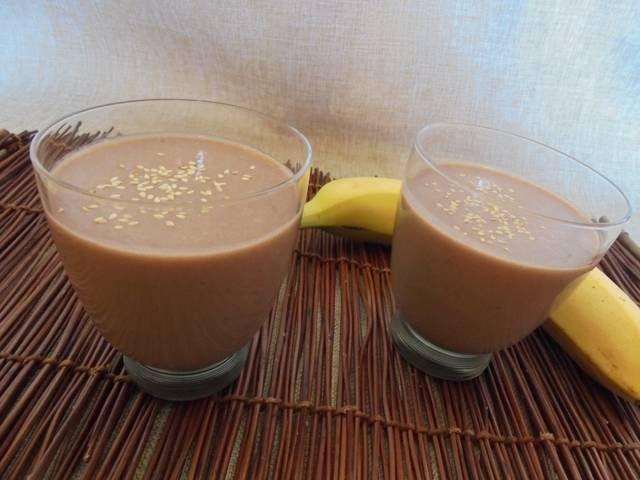 Νηστίσιμο Smoothie  μπανάνα-ταχίνι #cookpadgreece #smoothie #banana #nistisimo