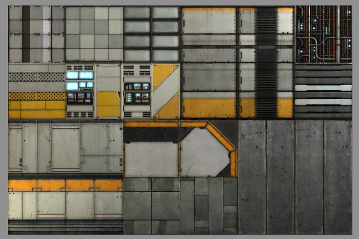 PK02 - SCI-FI Texture Set Released - Polycount Forum