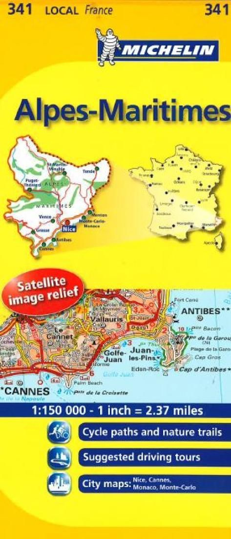 Alpes Maritimes, France (341) by Michelin Maps and Guides