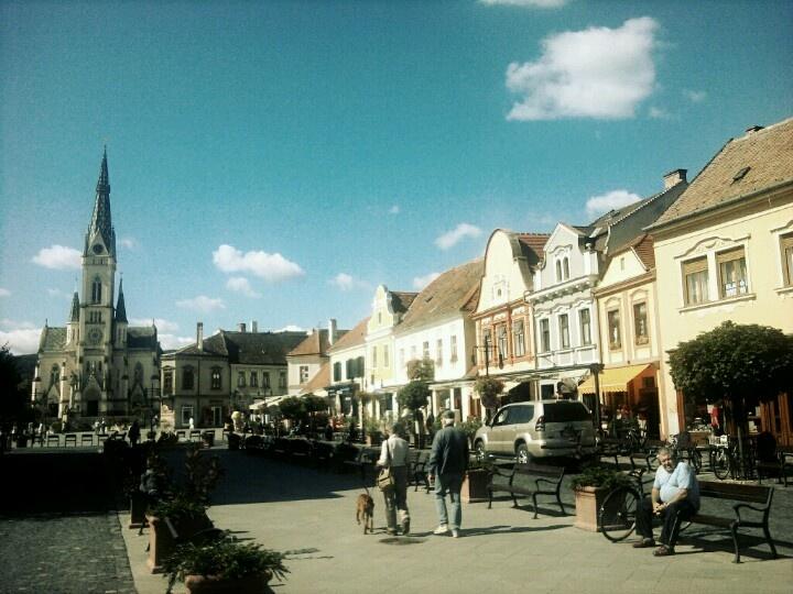 Kőszeg, Fő tér - Hungary