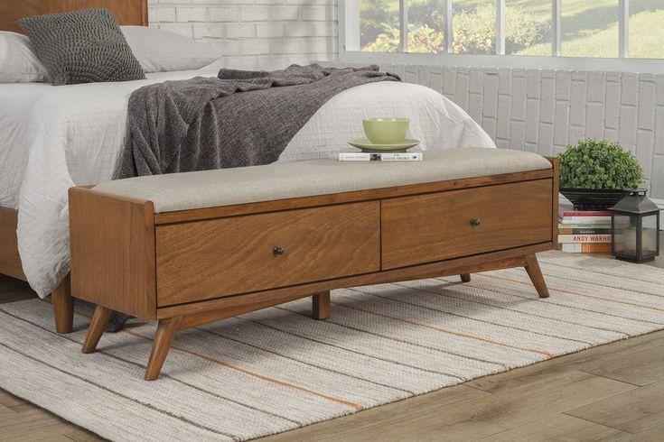 Parocela Wood Storage Bench   All Modern