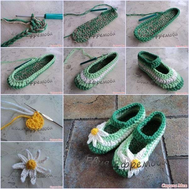 örgü bayan ayakkabı