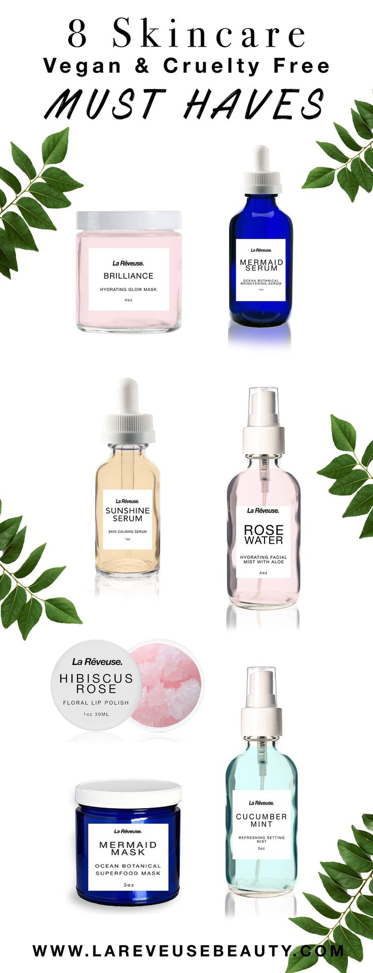 8 Vegan & Cruelty Free Skincare Must Haves