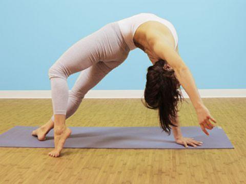 Wild Thing Pose: Camatkarasana Back Bends Yoga Poses