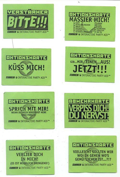 Stammheim Kassel Aktionskarten