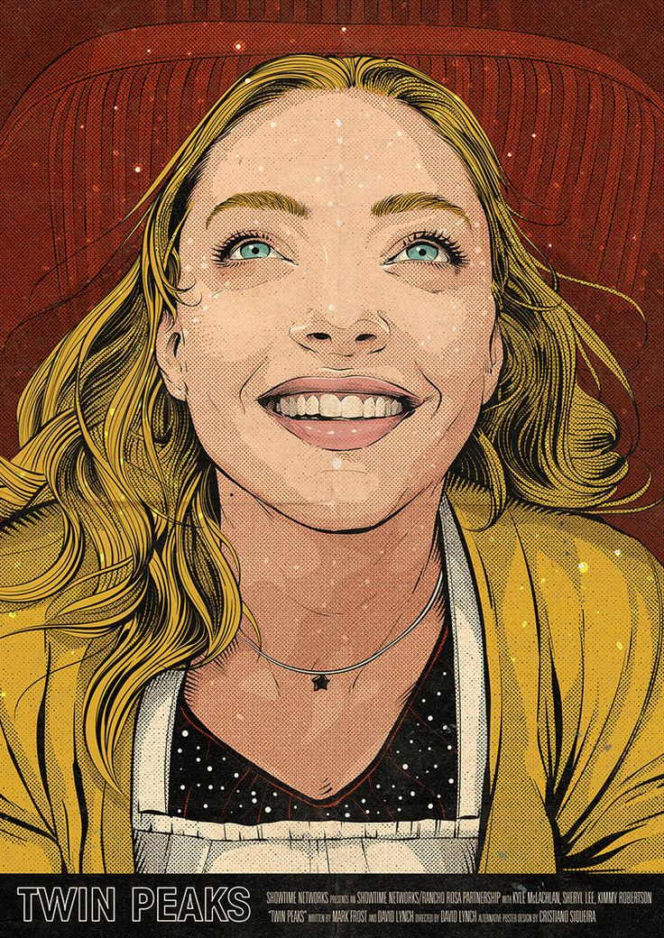 As a big fan of Twin Peaks, I decided to create one poster for each Episode of the new season. This is for the Episode 5 and shows Becky Burnett (Amanda Seyfried).