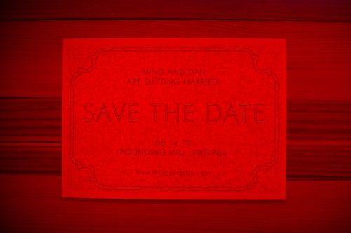 15 ideias pro seu Save the Date