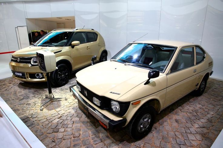 "Lot of neat cars at the Paris Motor Show this year, but I'm like ""That Suzuki Cervo though..."" Give me the rear-engined kei car!"