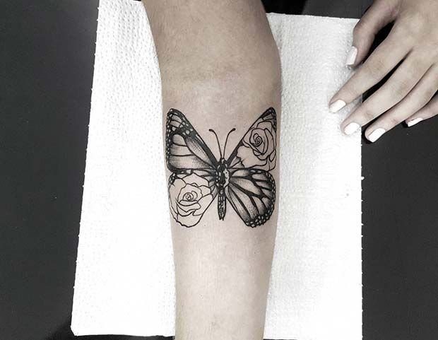 61 Pretty Butterfly Tattoo Designs And Placement Ideas Page 2 Of 6 Stayglam Butterfly Tattoo Rose And Butterfly Tattoo Butterfly Tattoo Designs