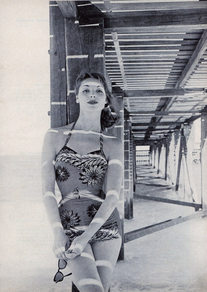 Swimwear from the 1950s... Pretty!