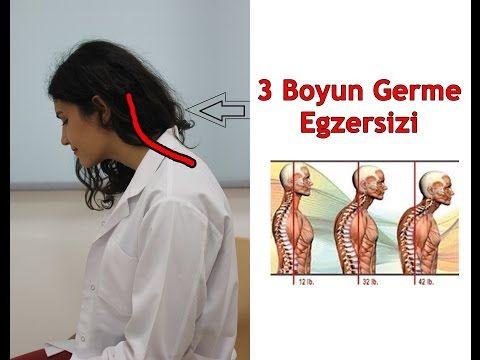 BOYUN GERME EGZERSİZLERİ / NECK STRETCHING EXERCISES FOR THE FORWARD HEAD - YouTube