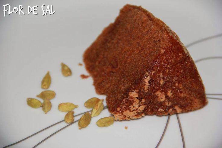 Flor de Sal: Bolo de Chocolate, Rum e Cardamomo