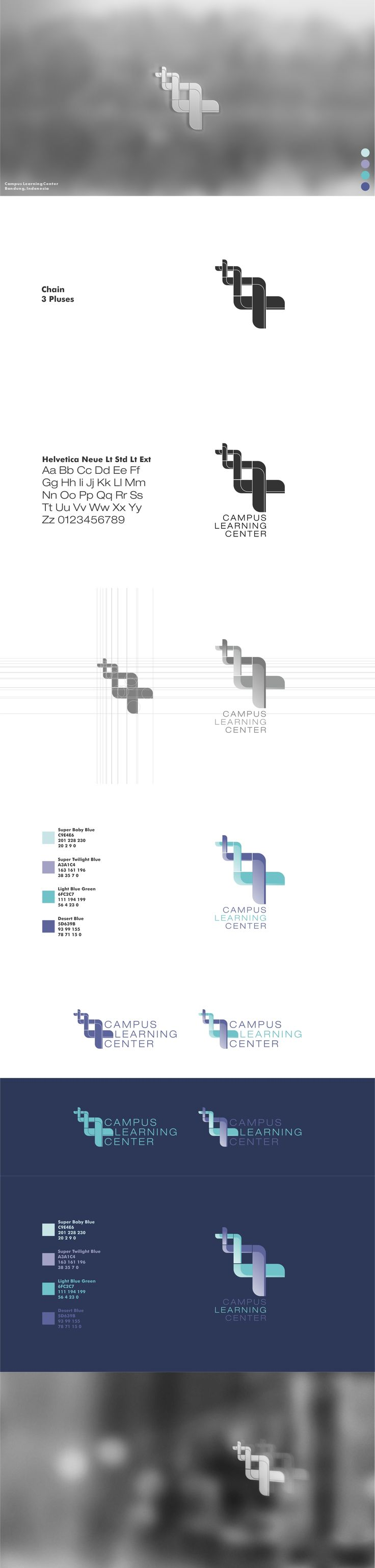Campus Learning Center - Visual Identity #visual #identity #visualidentity #logo #graphic #design #graphicdesign #digitalart #presentation #portfolio