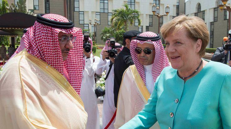 """Berlin strebt engere Beziehungen zum Königreich Saudi-Arabien an. Während in anderen Ländern selbst absurdeste Vorwürfe herhalten müssen, um """"Menschenrechte"""" anzumahnen, drücken Regierung und Leitmedien alle Augen zu, wenn es um die Öldynastie am Golf geht."""