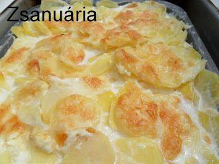 Francia krumpli.... azaz Gratin Dauphinois