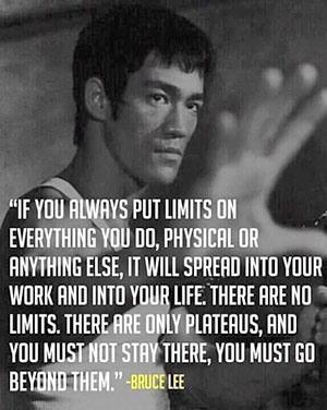 Bruce Lee's wisdom