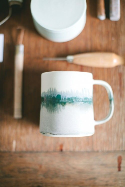 By Brit McDaniel of Paper and Clay. Very inspired by her story of starting her own business and doing what she loves every day.