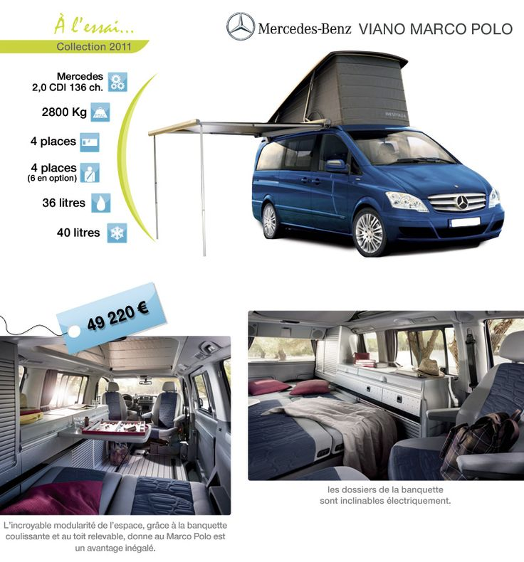7 best viano marco polo images on pinterest marco polo barcelona spain and camper van. Black Bedroom Furniture Sets. Home Design Ideas