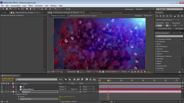 Element 3D Replicator Options