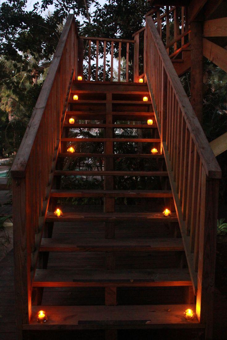 Stairway to #privatedinner #treehouse #couplesnegril