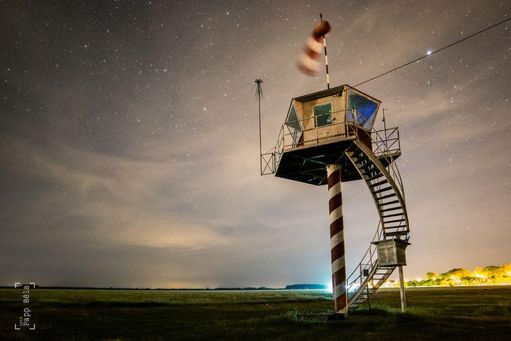 Hajdúszoboszló repülőtér by night