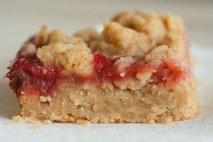 Rhubarb Bars... Rhubars: Rhubarb Cookie, Desserts Bars, Cookie Bars ...
