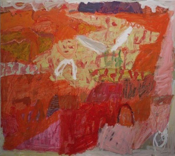 Elisabeth Cummings Sir John Gorge Mornington 2013 Oil on Canvas 135x150c