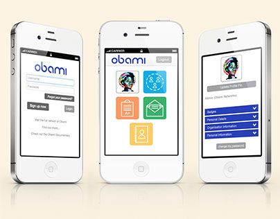 """Check out new work on my @Behance portfolio: """"Obami Redesign"""" http://on.be.net/1LEakov"""